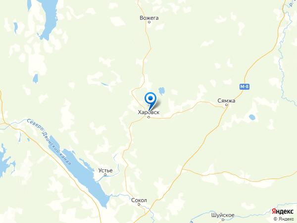деревня Хомутово на карте