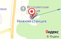 Схема проезда до компании NartSky в Даховской