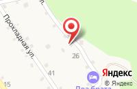 Схема проезда до компании Домик у реки Дах в Даховской