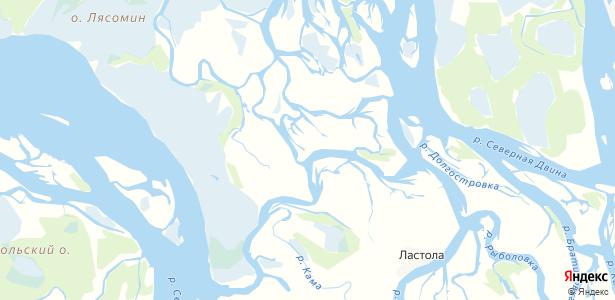 Наумцево на карте