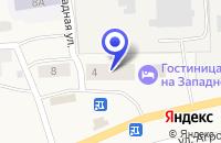 Схема проезда до компании ГОСТИНИЦА НА ЗАПАДНОЙ в Коноше
