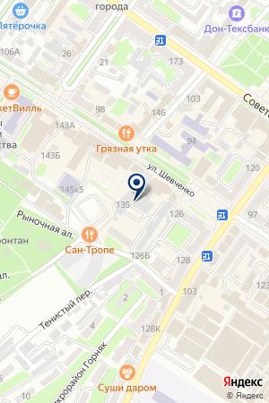 АКБ ДОНХЛЕББАНК на карте Шахт