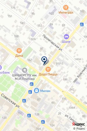 УНИВЕРМАГ ЦУМ на карте Шахт