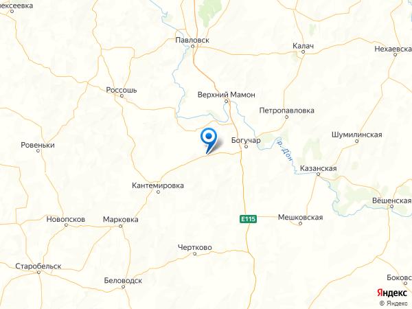 хутор Краснодар на карте