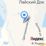 Почтовое отделение связи на карте Архангельска