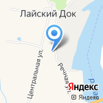 Волюжская на карте Архангельска