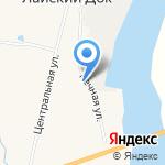 Лайдокский детский сад на карте Архангельска