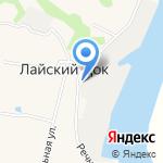 Экотэк на карте Архангельска