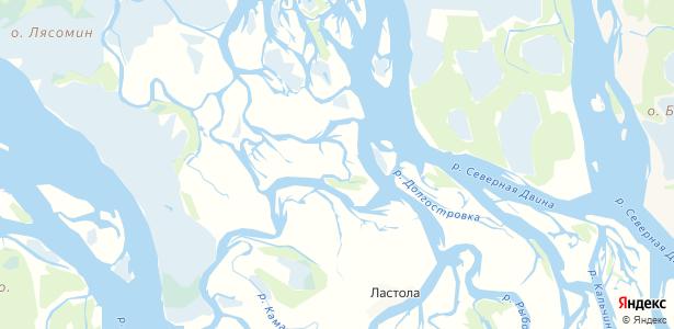 Чубола-Наволок на карте