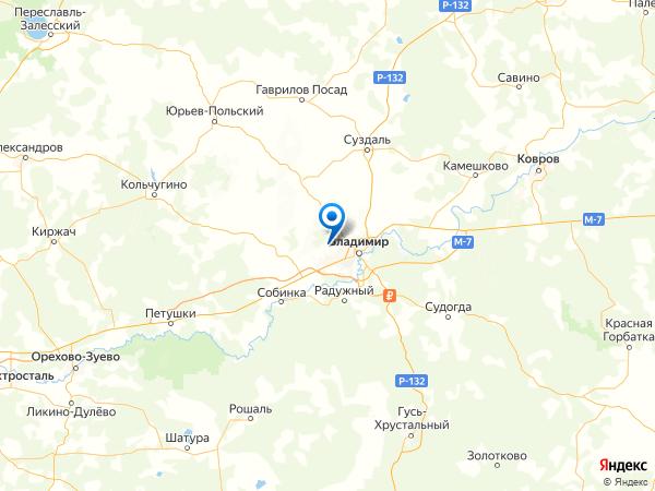 село Мосино на карте