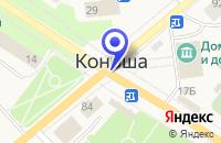 Схема проезда до компании КОНОШСКИЙ ДОК в Коноше