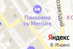 Схема проезда до компании Солнышко в Сочи
