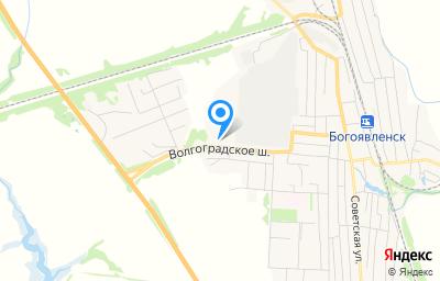 Местоположение на карте пункта техосмотра по адресу Тамбовская обл, рп Первомайский, ул Шоссейная, д 8