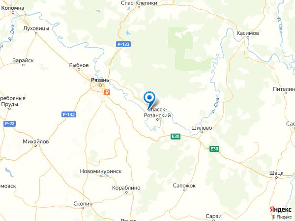 село Панино на карте