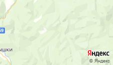 Отели города Новопрохладное на карте