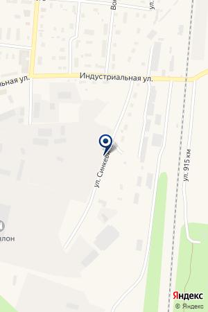 ГИБДД УПРАВЛЕНИЕ ВНУТРЕННИХ ДЕЛ (УВД) ПЛЕСЕЦКОГО РАЙОНА на карте Плесецка