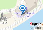Radisson Rosa Хутор на карте