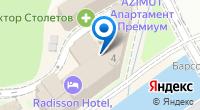 Компания Radisson Rosa Khutor на карте