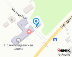 Схема местоположения почтового отделения 391976