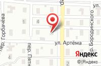 Схема проезда до компании ТЕХСНАБСЕРВИС в Астрахани