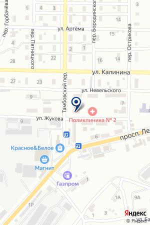 ДЕТСКАЯ ХУДОЖЕСТВЕННАЯ ШКОЛА № 2 на карте Шахт