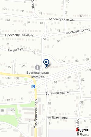СВЯТО-ВОЗНЕСЕНСКИЙ ХРАМ на карте Шахт