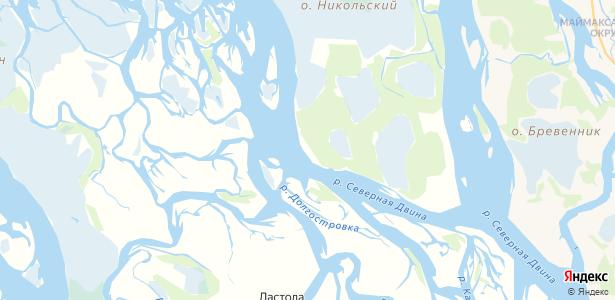 Красное на карте