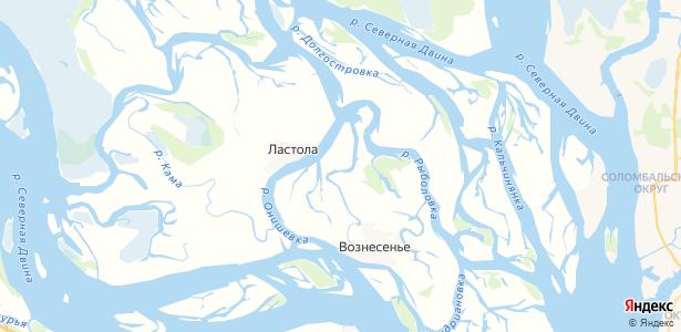 Тойватово на карте