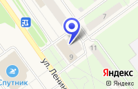 Схема проезда до компании СТОМАТОЛОГИЯ ВИТАДЕНТ в Мирном