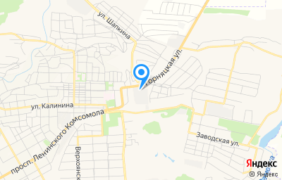 Местоположение на карте пункта техосмотра по адресу Ростовская обл, г Шахты, ул Осовиахима, д 12