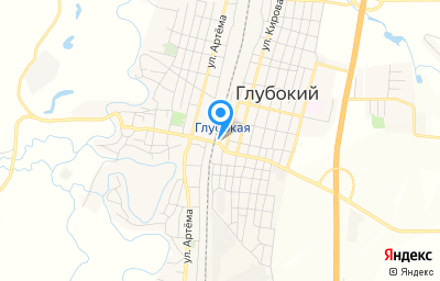 Местоположение на карте пункта техосмотра по адресу Ростовская обл, рп Глубокий, пер Переездный, д 2