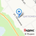 Фьюжн на карте Архангельска