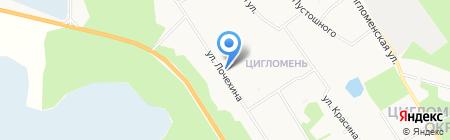 Стоматологический кабинет на ул. Лочехина на карте Архангельска