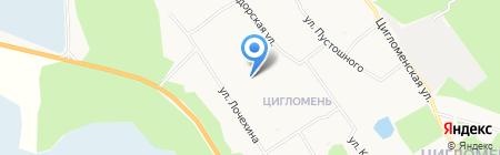 Детский сад №123 АБВГДейка на карте Архангельска