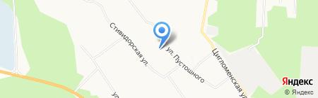 Детский дом на карте Архангельска