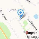 Мебельная мастерская на карте Архангельска