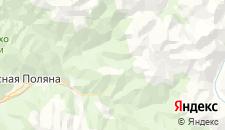 Отели города Газпром на карте