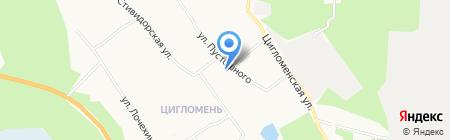 Участковый пункт полиции №1 Отдел полиции №2 на карте Архангельска