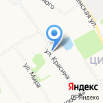 Павлик на карте Архангельска