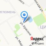 Дюна на карте Архангельска