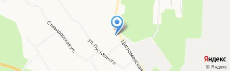ЖЭУ на карте Архангельска