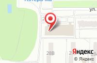 Схема проезда до компании Альянс-Мебель во Владимире