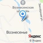 Вознесенская средняя общеобразовательная школа на карте Архангельска