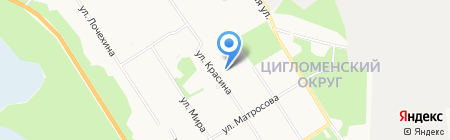 Оникс-М Беспятых на карте Архангельска