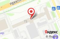 Схема проезда до компании Инфо-Владимир во Владимире