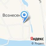 Администрация муниципального образования Островное на карте Архангельска