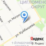 Детская поликлиника на карте Архангельска
