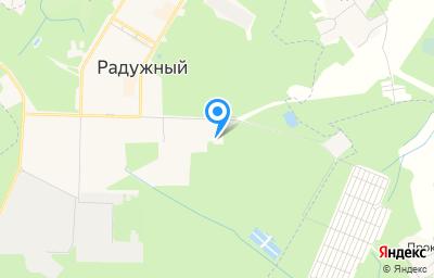 Местоположение на карте пункта техосмотра по адресу Владимирская обл, г Радужный, кв-л 10-й, д 6