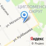 Основная школа №69 им. А.А. Ефремова на карте Архангельска
