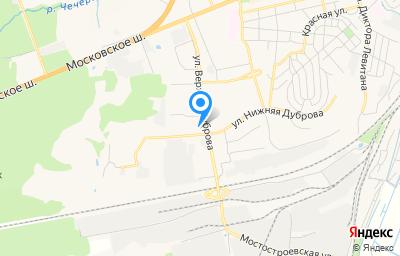 Местоположение на карте пункта техосмотра по адресу г Владимир, ул Верхняя Дуброва, д 40Б